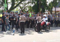 TEKAN ANGKA KECELAKAAN POLISI DAN PNS PURWOREJO, MAGELANG DAN KEBUMEN JAJAL SAFETY RIDDING
